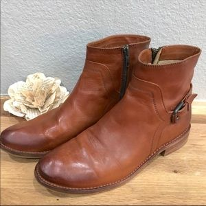 Frye Shirley Shield Ankle Booties
